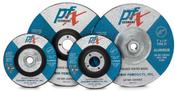 4 x 1/4 x 3/8 Type 27 Wheels, PFX/Germany Aluminum (25/Pkg.)