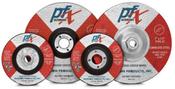4-1/2 x 1/4 x 7/8 Type 27 Wheels, PFX/Germany Stainless (25/Pkg.)