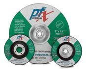 4-1/2 x 1/4 x 7/8 Type 27 Wheels, PFX/Germany-Masonry-Stone-Concrete-Cast Iron (25/Pkg.)