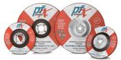 4-1/2 x 1/4 x 7/8 Type 27 Wheels, PFX/Germany Zirconia (25/Pkg.)