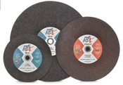 10 x 1/8 x 5/8 Cut-Off Wheels, Pfx/Germany Stationary, Ferrous Metals-Stainless Steel (25/Pkg.)