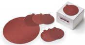"12"" 24-Grit Zirconia PSA Cloth Discs (50/Pkg.)"