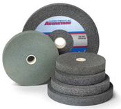 10 x 1-1/2 x 1-1/4 24-Q Aluminum Oxide Pedestal Wheel