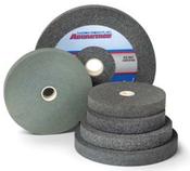 10 x 1-1/2 x 1-1/4 80-M Aluminum Oxide Pedestal Wheel
