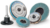 "3"" Mini Flap Type-R Quick Change Discs Zirconia 36-Grit (25/Pkg.)"
