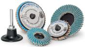 "3"" Mini Flap Type-R Quick Change Discs Zirconia 80-Grit (25/Pkg.)"