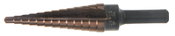 "1/4A"" Step Drill Ultra Bit Multi-Diameter Type 78-ACN Titanium Carbon Nitride Coated (1/Pkg.)"