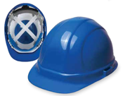 Blue Omega 360 Mega Ratchet Safety Hat Ansi Type 2, Class C, E, G (12/Pkg.)
