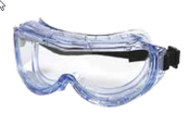 122 Expanded View Goggles 123 Frame Clear Anti-Fog Lens (12/Pkg.)