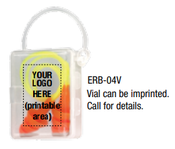 Orange ERB-04V Vial W/Corded Ear Plug (50/Pairs)