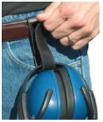 801 Black EarMuff Holder (12/Pkg.)
