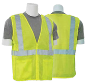 2X-Large S320 Lime ANSI Class 2 Vest Mesh Break-Away Hi-Viz Lime - Hook & Loop