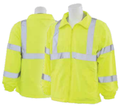 3X-Large S374 Lime ANSI Class 3 Windbreaker Polyester Pongee Hi-Viz Lime - Zipper
