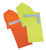 2X-Large S373PT Orange ANSI Class E Lightweight Rain Pants Oxford PU Coating Hi-Viz Orange