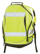 Hi-Viz Lime Backpack w/Black Trim BP1