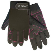 Black MGP100 GP Mechanics Gloves, EXTRA-SMALL