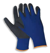 Blue N200 Sandy Finish Gloves,  MEDIUM (12/Pairs)