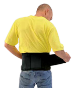 "Medium 33"" - 37"" Samson Back Supports with Suspenders"