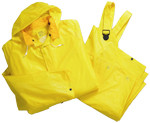2X-Large 4025 Rain suit 3pc .25mm Yellow