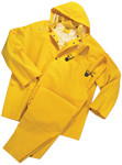 4X-Large 4035 Rain suit 3pc .35mm Yellow