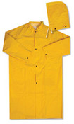 "4X-Large 4148 Raincoat 48"" .35mm Yellow"