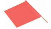 S3 Safety Flag Fluorescent Orange Vinyl