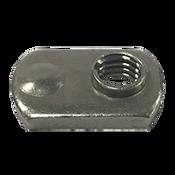 M6X1.0-6H Spot Weld Nut, Single Tab, Single Projection (2700/Bulk Pkg.)