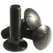 "1/2""-13x1-1/2"" (FT) Carriage Bolts Grade 5 Coarse Plain (400/Bulk Qty.)"