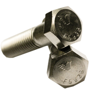 "1""-14x2-3/4"" (FT) Hex Cap Screws Fine(UNS) 316 Stainless Steel (10/Pkg.)"
