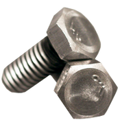 "1""-8x2-1/2"" (FT) Grade 2 Hex Cap Screw Plain (45/Bulk Pkg.)"