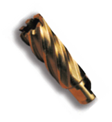 """1"""" Spira-Broach, Type 14L, M35 High-Speed Steel  Annular Cutter, Norseman Drill #16722"""
