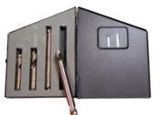 Type 187 4 Piece Weldout Spotweld Drill Set (1 Set), Norseman Drill #NDT-35050