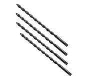 "1/4"" Type 221-P - Heavy Duty, Parabolic Flute, Taper Length Tang Drive (12/Pkg.), Norseman Drill #35400"