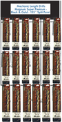 116 Piece Type 175-AG Mechanic Length Drills Premium Display Package