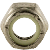 #12-24 NTM (Thin) Nylon Insert Locknut, Coarse, Stainless A2 (18-8) (100/Pkg.)