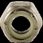 #10-32 NTM (Thin) Nylon Insert Locknut, Fine, Stainless A2 (18-8) (100/Pkg.)