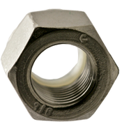 #10-24 NM (Standard) Nylon Insert Locknut, Coarse, Stainless 316 (100/Pkg.)