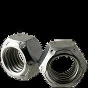 "1/4""-20 All Metal Hex Locknuts Grade C Med. Carbon Zinc & Wax Cr+3 (100/Pkg.)"