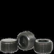 "Image of 1-1/4""-11 1/2 Pipe Plugs Alloy Dry-Seal 3/4"" Taper Black Oxide (USA) (100/Bulk Pkg.)"