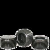 "Image of 1-1/2""-11 1/2 Pipe Plugs Alloy Dry-Seal 3/4"" Taper Black Oxide (USA) (75/Bulk Pkg.)"