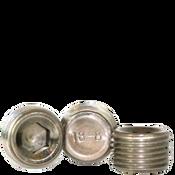 "Image of 3/8""-18 Pipe Plugs 18-8 Stainless Dry-Seal 3/4"" Taper (1100/Bulk Pkg.)"