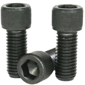 "5/16""-18x3/8"" (FT) Socket Head Cap Screws Coarse Alloy 1936 Series Thermal Black Oxide (100/Pkg.)"