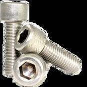 """#0-80x1/4"""" (FT) Socket Head Cap Screws Fine 18-8 Stainless (100/Pkg.)"""