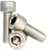 "#0-80x1/2"" Socket Head Cap Screws Fine 18-8 Stainless (100/Pkg.)"