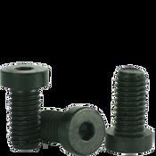 "#10-24x1"" Low Head Socket Caps Coarse Alloy Thermal Black Oxide (100/Pkg.)"
