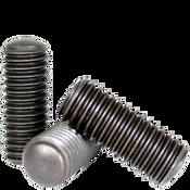 "#10-24x7/16"" Socket Set Screws Oval Point Coarse Alloy Thermal Black Oxide (100/Pkg.)"