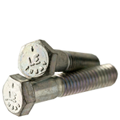 "7/16""-20x3"" (PT) Hex Cap Screws Grade 5 Fine Med. Carbon Zinc CR+3 (USA) (275/Bulk Pkg.)"