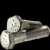 "5/8""-11x2"" (FT) Hex Cap Screws Grade 5 Coarse Med. Carbon Zinc CR+3 (USA) (175/Bulk Pkg.)"