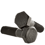 M8-1.25x85 MM (PT) Hex Cap Screws 8.8 DIN 931 / ISO 4014 Coarse Med. Carbon Plain (500/Bulk Pkg.)