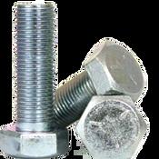 """5/8""""-11x2"""" (FT) Hex Cap Screws Grade 5 Coarse Med. Carbon Zinc CR+3 (175/Bulk Pkg.)"""